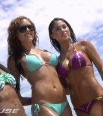 UFC-127-Fighters-Octagon-Girls-Invade-Bondi-Beach
