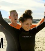 Bethany-Mota-hangs-out-at-Bondi-with-Lifeguard-Maxi