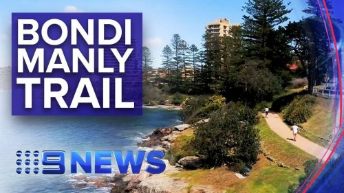 New-Bondi-to-Manly-walking-trail-opened-Nine-News-Australia