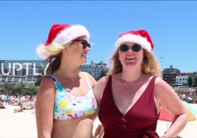 Bondi-beachgoers-wish-you-a-very-sunny-Christmas-from-sandy-Sydney